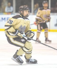 Flushing native Jacob Badal becomes the first local draftee in franchise history. He's a Western Michigan University commit and Flint Powers Catholic student.