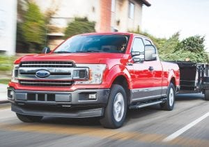The 2018 Ford F-150's first 3.0-liter Power Stroke diesel engine officially boasts EPA-estimated ratings of 30 mpg highway, 22 mpg city and 25 mpg combined. These are the highest EPA-estimated ratings available in a full-size pickup truck.