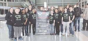 Competing at the World Festival meet in Kentucky, CAMS robotics team won the Excellence Award.