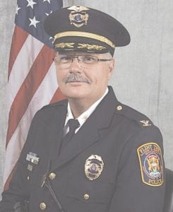 Police Chief George Sippert is retiring. His replacement is due to be name on May 21 at the township board meeting.