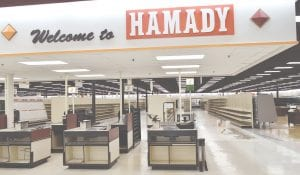 A look at the inside of the new Hamady store on Pierson Road in Flint.