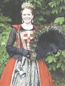Queen Anna of the Mid-Michigan Renaissance Festival is excited to welcome visitors to the 10th anniversary of the festival, which is set to kick off June 9 and will be held weekends through July 1.