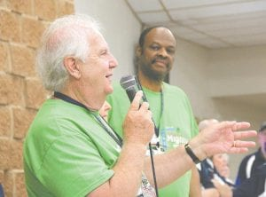 Al Hatch, the founder of Back to the Bricks, welcomed hundreds of classic car enthusiasts to St. John Catholic Church in Davison on Friday, offering breakfast and instructions before the six-day