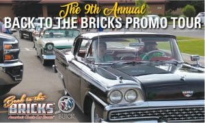 Back to the Bricks began their annual Promo Tour last Friday in Davison, with hundreds of participants showing up for the six-day tour, which left Davison on June 8 and had overnight stops in Mt. Pleasant, Gaylord, Petoskey, St. Ignace, and East Tawas.