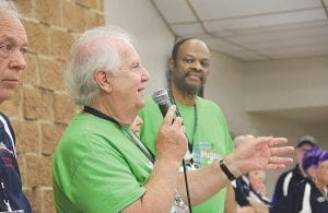 Al Hatch, the founder of Back to the Bricks, welcomed hundreds of classic car enthusiasts to St. John Catholic Church in Davison on Friday, offering breakfast and instructions before the six-day Promo Tour.