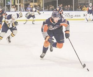 The Flint Firebirds started off the preseason with two consecutive wins. Photo provided
