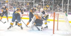 The Flint Firebirds take on the Erie Otters in their second game of the year. Photo provided